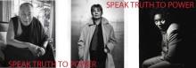Speak Truth To Power - mod utan gränser  en fotoutställning med porträtt av människor som vågat ta ställning