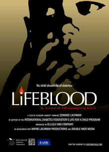 Pressinbjudan Life for a Child - Lifeblood, 22 september