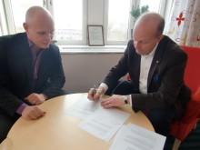 Högskolan i Gävle sluter avtal med regionens företagsinkubator
