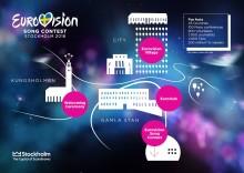 Stockholm bjuder in till 14 dagars evenemang under Eurovision Song Contest i maj