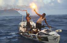 Kristianstadsbor i mål efter 60 dagar på Atlanten -  Talisker Whisky Atlantic Challenge