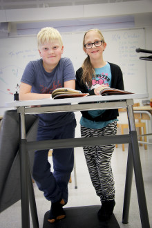 Alingsåsskolor i världsunikt ståbordsprojekt