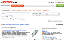 MyNewsdesk – The News Exchange Site