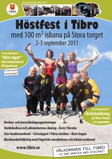 Affisch - höstfesten i Tibro 2-3 september