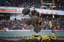 Max-D klar för Monster Jam på Friends Arena