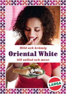 Larsa Foods introducerar Oriental White  - Perfekt till sallad och Meze!