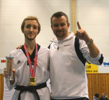 Martin Maurtvedt vant Kongepokalen i WTF-Taekwondo