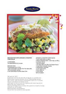 Recept Mexican Fish