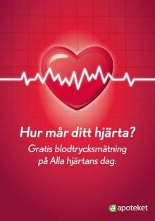 Ta hand om ditt hjärta på Alla hjärtans dag