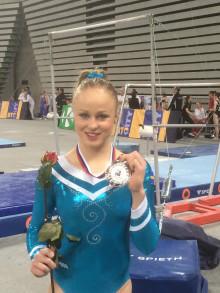 Silvermedalj för Jonna Adlerteg i barrfinal i världscupen Challenge Cup