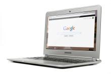 Chromebook till Sverige - datorn skapad för webben