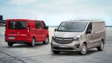 """Opel Vivaro är """"Årets transportbil 2015"""" i Danmark"""