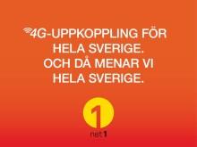 Glädjebesked till glesbygden:  Nu får alla i Sverige tillgång till mobilt bredband med 4G