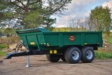 Stryktåliga dumpervagnar för krävande arbeten