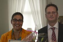 Götalands vinnare av CSR-priset Visa vägen från Kalmar och Gränna