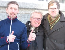 Ulf Cronheim och Martin Orchidéen blir krögare i Hamburgerbryggeriet