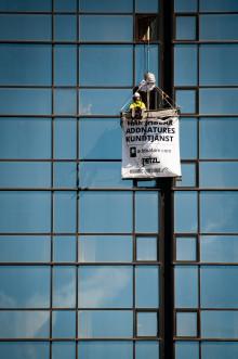 Addnature öppnar kundtjänst på fasaden av Gothia Towers