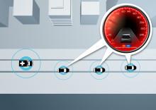 Volvo Personvagnar förbättrar säkerheten med kommunicerande bilar