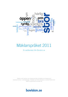 Mäklarspråket 2011