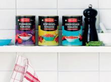 Delizies delikatesstomater i burk, nu även på Hemköp