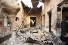 Petition lanserad om utredning av sjukhusbombningen