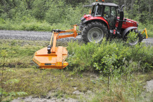 A new generation of chain mulcher for grass and brushwood