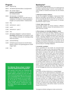 Program En dag om mänskliga rättigheter