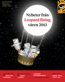 Leopard förlag vårens boknyheter 2013
