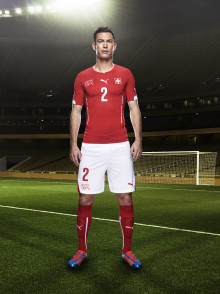 PUMA INTRODUCES SWISS NATIONAL KITS FOR THE 2014 FIFA WORLD CUP™