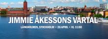Jimmie Åkesson höll vårtal