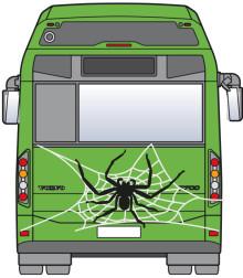 Halloween-bussar i Helsingborg