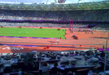 Delivering the data on the biggest weekend of sport at London 2012
