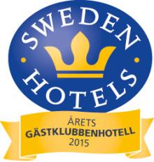 Sweden Hotels Gala 2015 - nomineringar Årets Gästklubbenhotell 2015