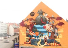 Dulk brings fairytales to No Limit Street Art Borås