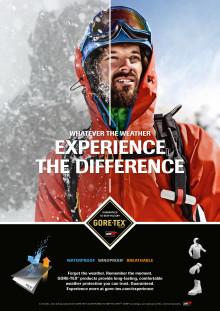 GORE-TEX® lanserar ny global kampanj för hösten/vintern 2014