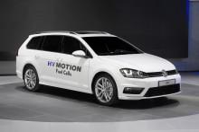 Golf Sportscombi HyMotion med bränsleceller
