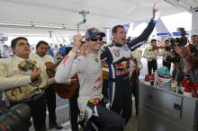Tredje raka segern för Ogier i Rally Mexico