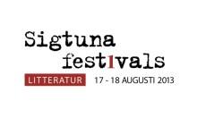 Sigtuna Litteraturfestival förlängs till två dagar 2013