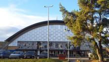 Sundsvalls sporthall får nytt golv i A-hallen och återställt golv i B-hallen