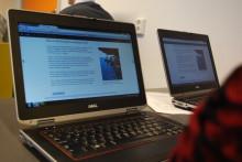 Eleverna vill ha datorn fylld med innehåll