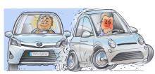 Hybridförare säkrare i stadstrafiken