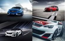 Peugeots läckra publikmagneter på IAA i Frankfurt