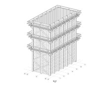Martinsons bygger släcktorn i limträ åt SSAB