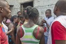 Röda Korset blir förmånstagare  för initiativet Utmana ebola