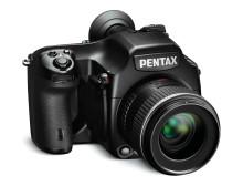 Skreddersydd bildeoverføringsprogram for Pentax 645D