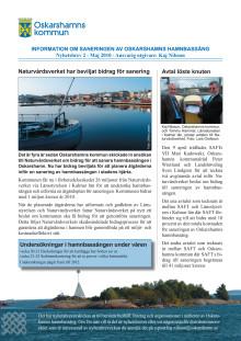 Nyhetsbrev 2 för sanering av Oskarshamns hamnbassäng