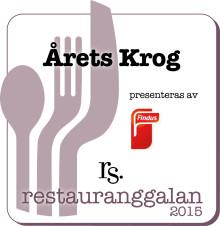 Findus sponsrar Årets Krog på Restauranggalan 2015
