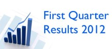 First Quarter Results 2012
