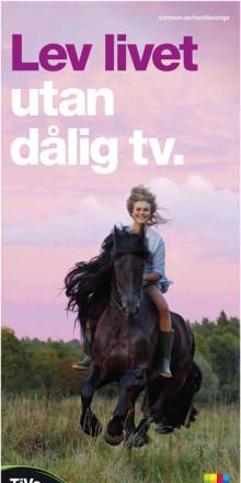 Inte mer tv. Mer bra tv - TiVo lanseras idag med den största kampanjen i Com Hems historia.
