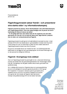 Pressmeddelande - Fågelviksgymnasiets informationskampanj Powered By Passion